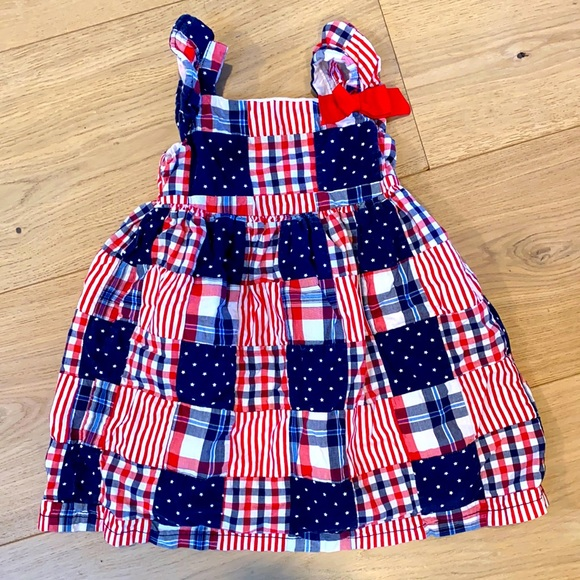 ❤️🤍💙 baby dress